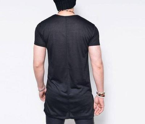 NinjApparel - Summer Tee -  Black Back View