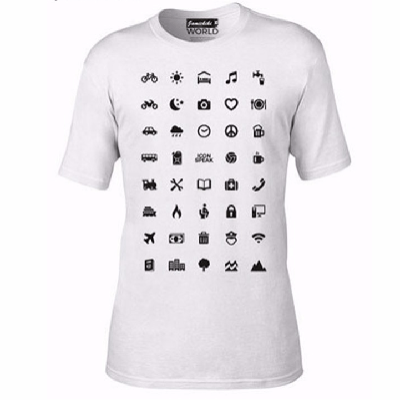 NinjApparel - The Communicator - White