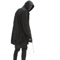 NinjApparel - The Force Hoodie - Black 3
