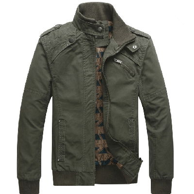 NinjApparel - The Commander Jacket - Army Green Cover Photo
