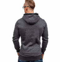 NinjApparel - The Hood - Grey Back View