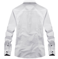 NinjApparel - The Wallstreet - White Back View