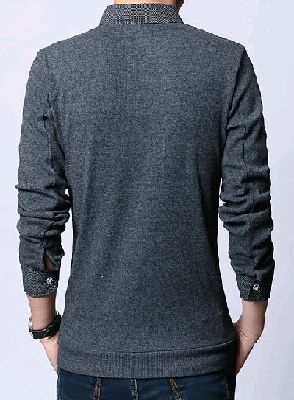 NinjApparel - The Trendsetter - Grey Back View