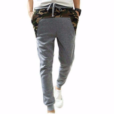 Drop Crotch Joggers - Camo Stripe