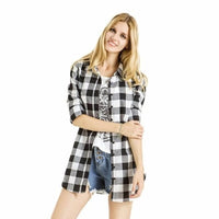 NinjApparel - Extended Plaid - Black - Cover