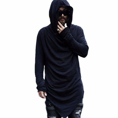 NinjApparel - The Dark Master Hood - Black  - Front