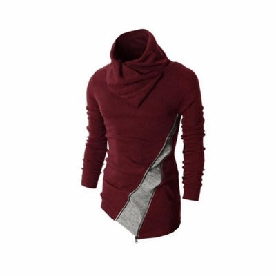 Ninjapparel - Samurai Slash - Wine Red Front