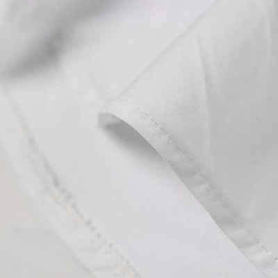 NinjApparel - Divinity Dress - White - Stitching Detail