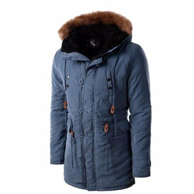 NinjApparel - Snow Master Jacket - Blue - Front