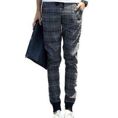 Chequer Joggers