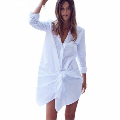 NinjApparel - Divinity Dress - White - Cover