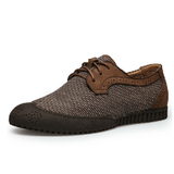 NinjApparel - Oxford Steps  - Khaki - Side