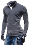 NinjApparel - Wentworth Sweater - Dark Grey Side View