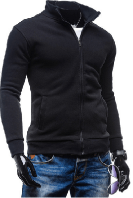 NinjApparel - Wentworth Sweater - Black Side View