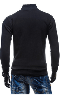 NinjApparel - Wentworth Sweater - Black Back View