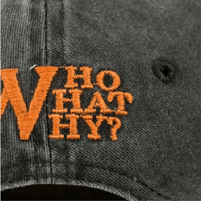 NinjApparel - Who? What? Why? Cap - Who What Why?
