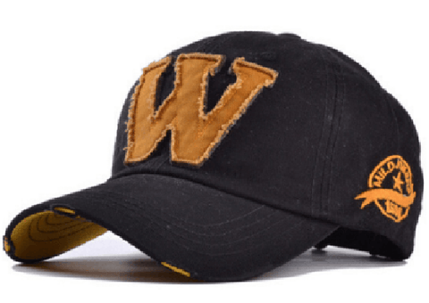NinjApparel - Who? What? Why? Cap - Black