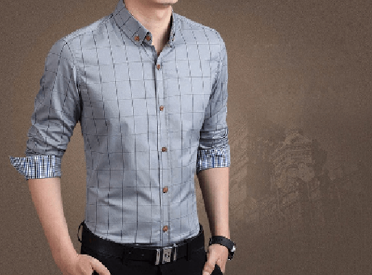 NinjApparel - Chequer Shirt - Grey2