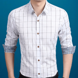 NinjApparel - Chequer Shirt - White