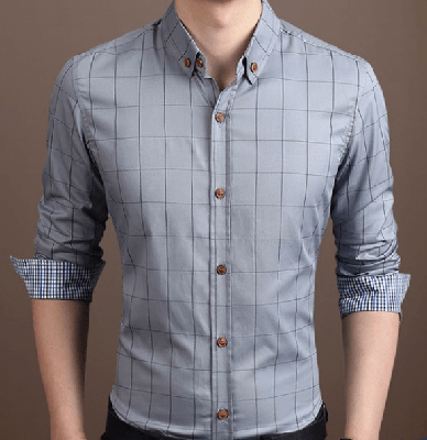 NinjApparel - Chequer Shirt - Grey