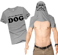 NinjApparel - Dog Tee - Grey