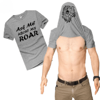 NinjApparel - Lion Tee - Grey