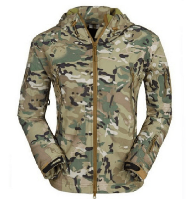 NinjApparel - Rebel Alliance Jacket -  Camouflage Front View