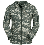 NinjApparel - Rebel Alliance Jacket -  Pixelated Camo Front View