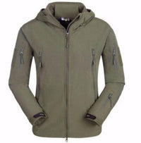 NinjApparel - Rebel Alliance Jacket -  Army Green Front View
