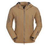 NinjApparel - Rebel Alliance Jacket -  Khaki Front View