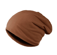 NinjApparel - Headsock Light Brown Front View
