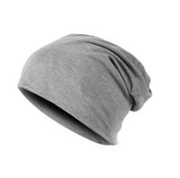 NinjApparel - Headsock Light Grey Front View