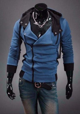 NinjApparel - Assassin's Freerunner Athen's Blue Front View