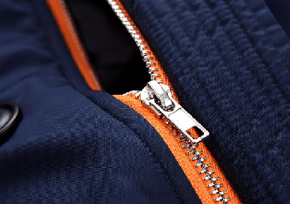 NinjApparel - Modern Eskimo Jacket - Close Up Zip