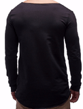 NinjApparel - Bounty Hunter Tee - Black Back View