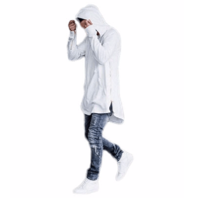 NinjApparel - Jedi Hoodie: Episode II - White Cover Photo