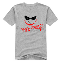 NinjApparel - The Joker Tee - Grey