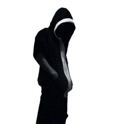 NinjApparel - Hades Hoodie - Black and White