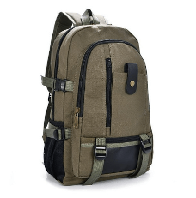 NinjApparel - Military Backpack - Army Green