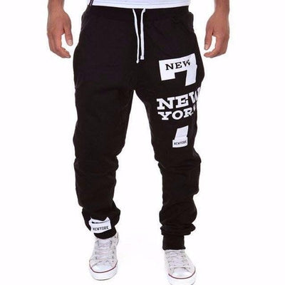 NinjApparel - New York Joggers - Black