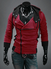 NinjApparel - Assassin's Freerunner Red Front View