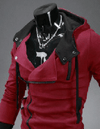 NinjApparel - Assassin's Freerunner Red Side View