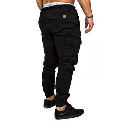 Rogue Chinos - NinjApparel - Black - Side