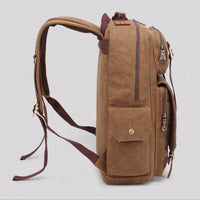 NinjApparel - Vintage Backpack - Side