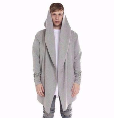 NinjApparel - Skywalker Hoodie - Grey Front View