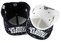 NinjApparel - Stormtrooper Snapback - Black and White Upside Down