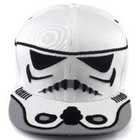 NinjApparel - Stormtrooper Snapback - White Cover Photo