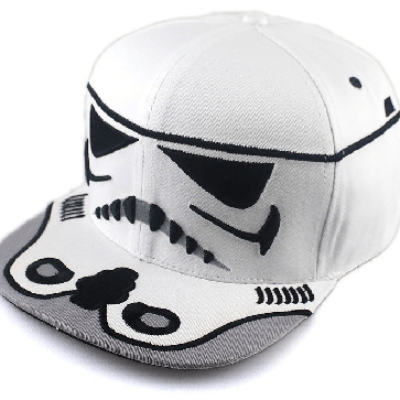NinjApparel - Stormtrooper Snapback - White Side View