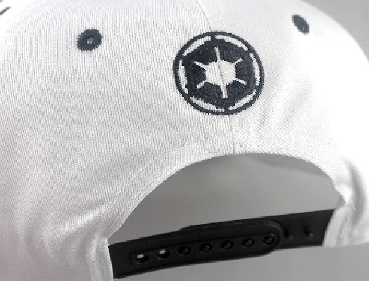 NinjApparel - Stormtrooper Snapback - White Back View