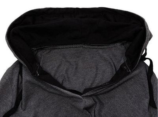 NinjApparel - Summer Assassin Grey w/Black Trim Collar Up Close-up